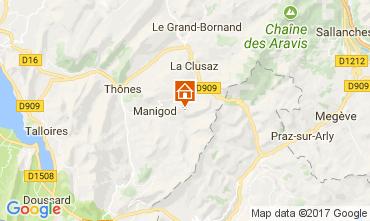 Map Manigod-Croix Fry/L'étale-Merdassier Apartment 112072