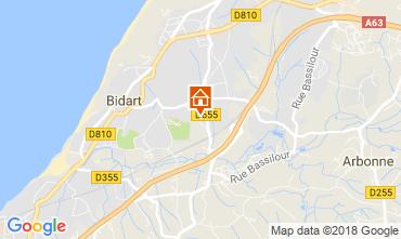 Map Bidart Villa 115441