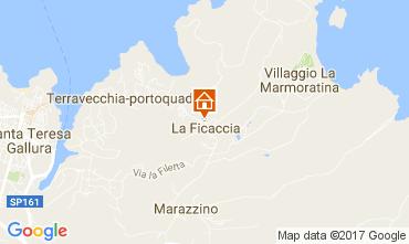 Map Santa Teresa di Gallura Apartment 94262