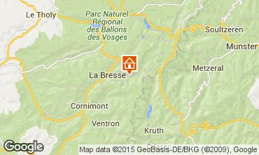 Map La Bresse Hohneck Apartment 25854