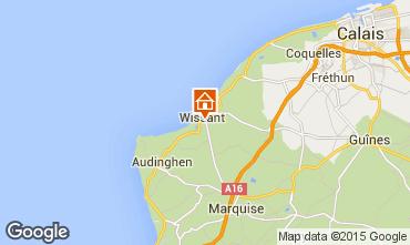 Map Wissant Villa 31263