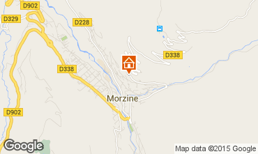 Map Morzine Chalet 58010