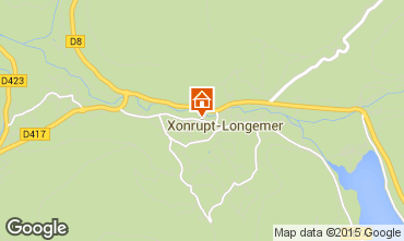 Map Xonrupt Longemer Self-catering property 66611