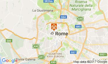 Map Rome Apartment 105581