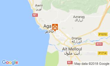 Map Agadir Apartment 116010