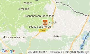 Map Strasburg Self-catering property 81456