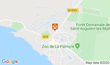 Map La Palmyre Apartment 81259