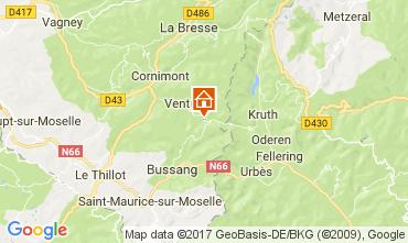 Map Ventron Chalet 112488