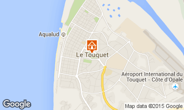 Map Le Touquet Apartment 66471