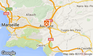 Map Cassis Villa 8416