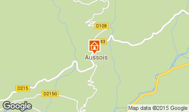 Map Aussois Apartment 80820