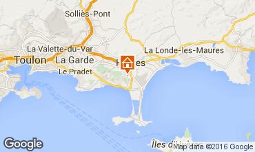 Map Hyères Villa 102987