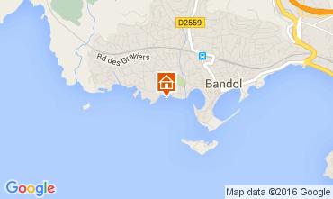 Map Bandol Apartment 8635