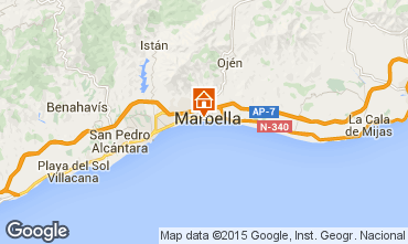 Map Marbella Apartment 37100