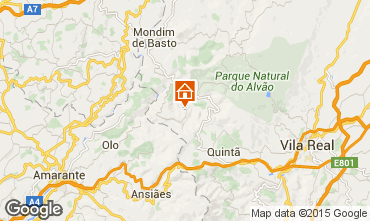 Map Mondim de Basto Self-catering property 84160