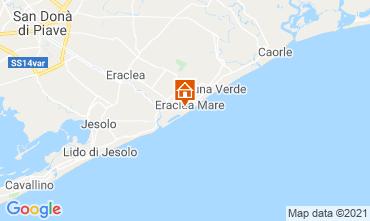 Map Eraclea Mare Studio apartment 97384