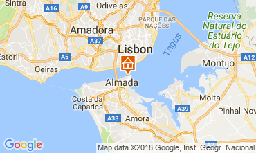 Map Almada Apartment 115083