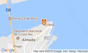 Map Almada Apartment 115083