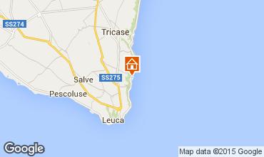 Map Marina di Novaglie Apartment 95698