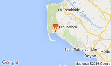 Map La Palmyre Mobile home 92743