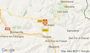 Map Les Gets Chalet 66905