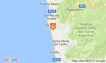 Map Scalea Apartment 106960