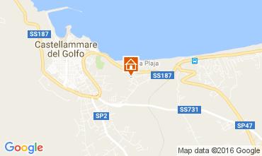 Map Castellammare del Golfo House 67481