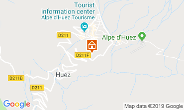 Map Alpe d'Huez Apartment 117531