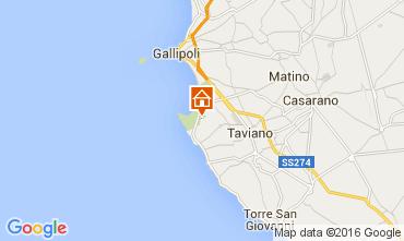 Map Gallipoli Villa 95969