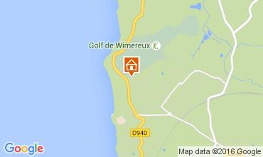Map Wimereux Apartment 8918