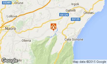 Map Cala Gonone Studio apartment 80248
