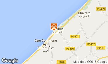 Map Oualidia Villa 45810