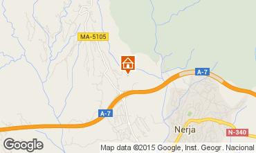 Map Nerja Self-catering property 65400