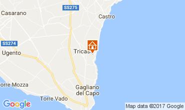 Map Tricase Villa 87119