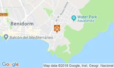 Map Benidorm Apartment 116824