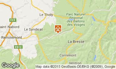 Map Gérardmer Chalet 74651
