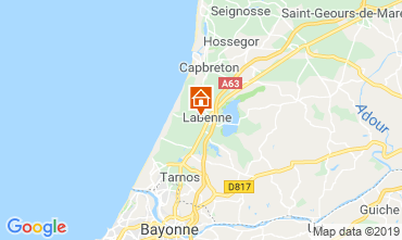 Map Labenne Océan House 97753