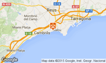 Map Cambrils Apartment 78295