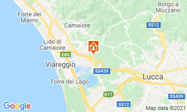 Map Viareggio Apartment 87836