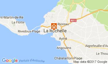 Map La Rochelle Studio apartment 109211