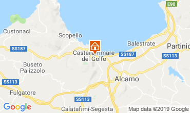 Map Castellammare del Golfo House 118269