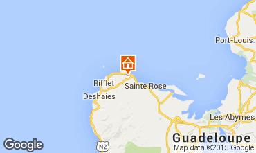 Map Sainte Rose Self-catering property 62646