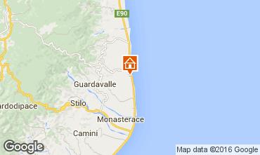 Map Santa Caterina dello Ionio Apartment 78323