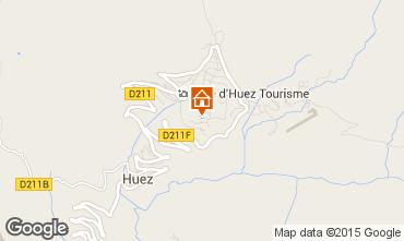 Map Alpe d'Huez Studio apartment 41580