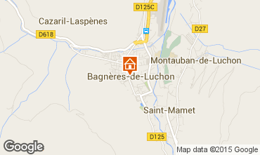 Map Luchon Superbagneres Apartment 4216