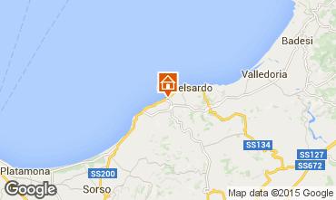 Map Castelsardo Apartment 51085