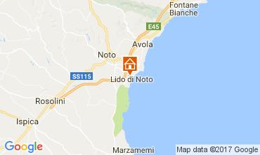 Map Avola Villa 102661