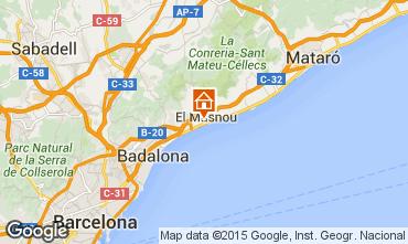 Map Barcelona House 44076