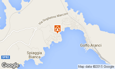Map Aranci Gulf Apartment 74688