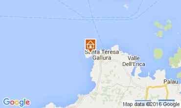Map Santa Teresa di Gallura Apartment 99069